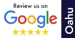 Oahu Location Google Review Button