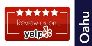 Oahu Location Yelp Review Button